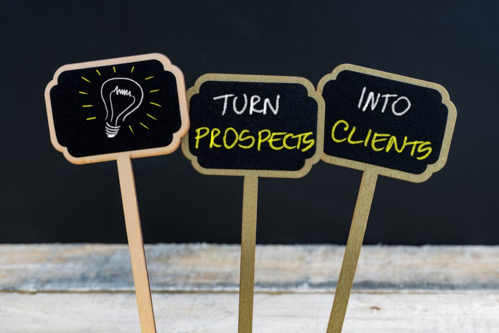 Turn Prospects Into Clients
