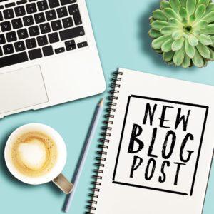 New Blog Post Notebook